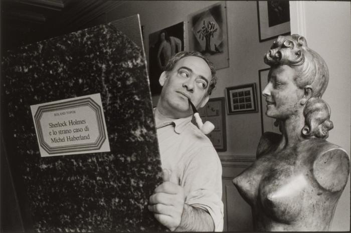 Alecio de Andrade - Roland Topor, Paris 1986