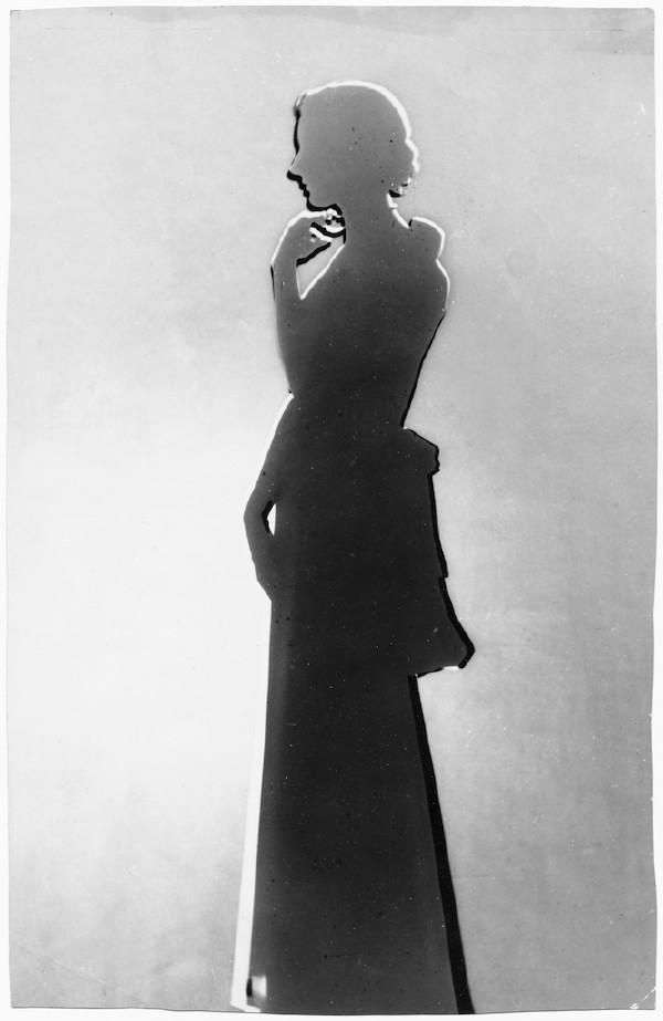 Blumenfeld - Contour d'un modèle, 1938