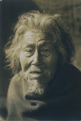 Edward S. Curtis - Male Portrait, 1914