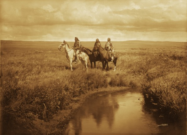 Edward S. Curtis - Three Chiefs