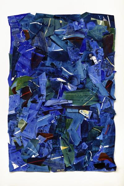 Jan Voss - Site bleu (13038), 2013