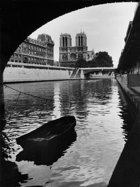 Fred Stein - Rowboat, Paris 1935