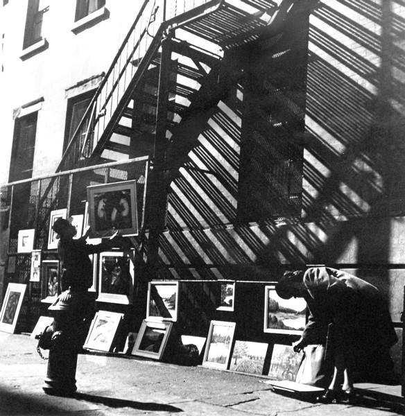 Fred Stein - Greenwich Village Art Fair, New York 1947
