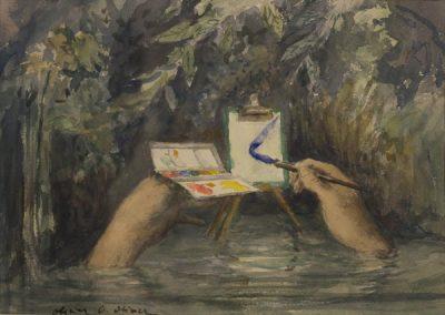 Olivier O. Olivier - L'aquarelle, 1993