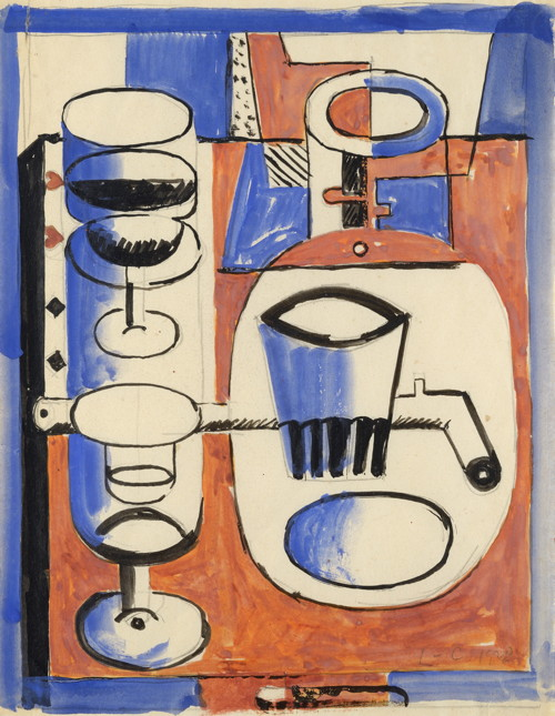 Le Corbusier - Nature morte puriste, 1928