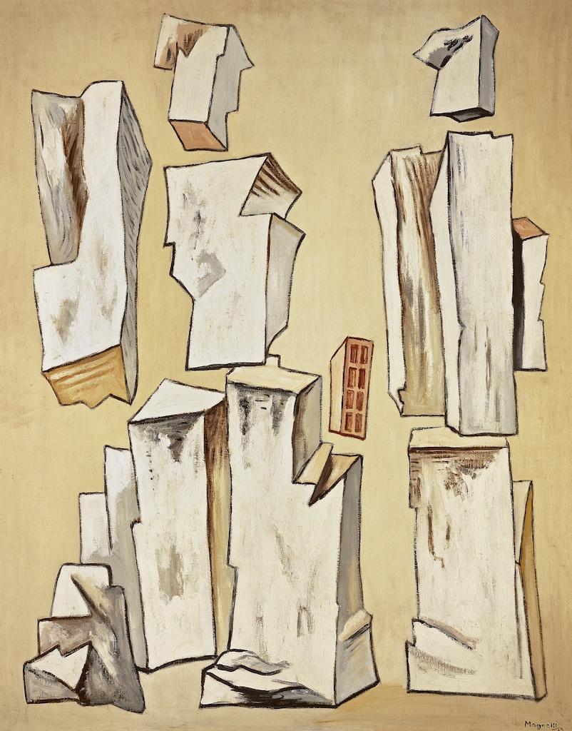 Alberto Magnelli - Pierres n°1 (inv. 399), 1933