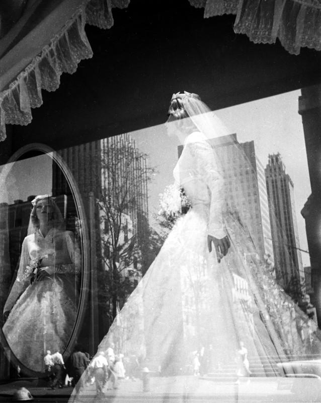 Fred Stein - Bride Dress, New York 1949