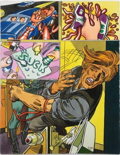 Erró - La seringue, 1982